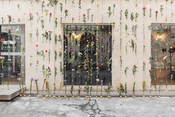 """Piuarch presents """"Flowerprint"""": The Vertical Floral Embroidery"""