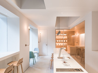In and between boxes by Luk Studio - China