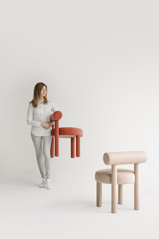 Gropius Chair & Low Chair by NOOM by Kateryna Sokolova