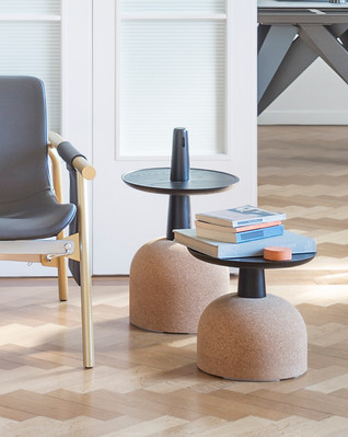 ASSEMBLAGE Side Tables by Alain Gilles for Bonaldo
