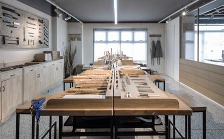 Fan Workshop Beijing by Golucci Interior Architects