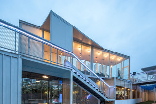 Black Box Gym - A Temporary Architecture Practice by Horus Architectural Design (HAD) & Epos Arc