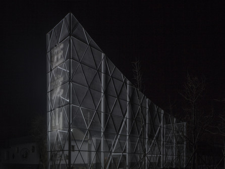 Dragon Mountain Pavilion by Aurelien Chen Architecture