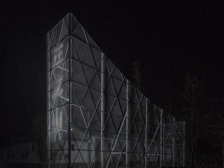 Dragon Mountain Pavilion by Aurelien Chen Architecture