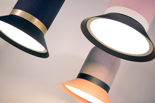 The BuzziHAT Lamp by Alain Gilles