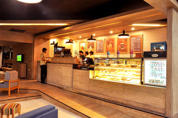 Gloria Jean's outlet Centaurus Mall by Office For Radical Architecture Discipline (ORAD)