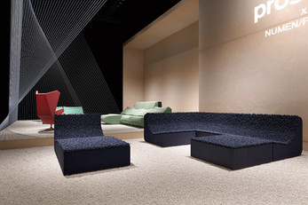 Numen/For Use opposing sofa trends by Prostoria
