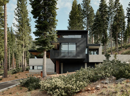 Lookout House, Truckee, California by Faulkner Architects