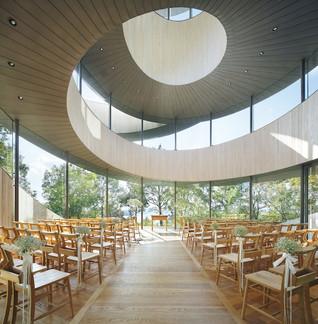 A Spiralling Ribbon Chapel