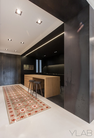 Diagonal Avenue apartment by YLAB Arquitectos