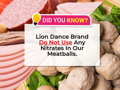 The Right Pack - Sodium Nitrates/Nitrides