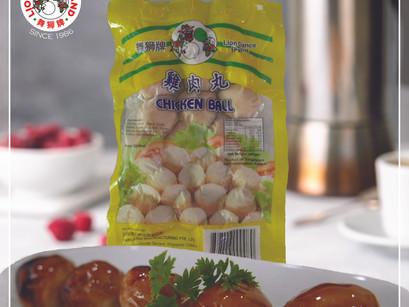 One-Step Teriyaki Chicken Balls