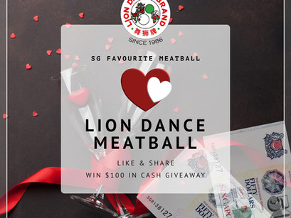 Love ❤️ Giveaway Lion Dance Brand X $100 CASH