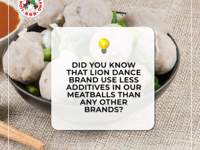 Less Additives Used In Lion Dance Brand