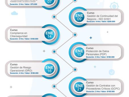 Calendario de cursos y talleres de Pallavicini Consultores