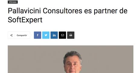 Publicación Infoweek: Pallavicini Consultores es Partner de Softexpert