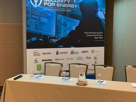 Congreso Cyber Security for Energy: Energía Segura en la era Digital