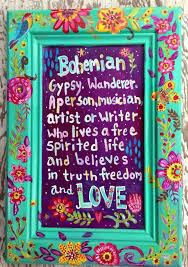 Bohemian Bex - Not so Bohemian after all!!