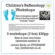 Reflexology workshops
