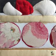 Cake with big strawberries  苺のケーキ