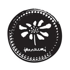Hanaemi Logo Black