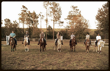 adult group riding lessons
