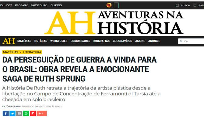 Aventuras na História