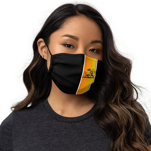 Respect gold Face mask