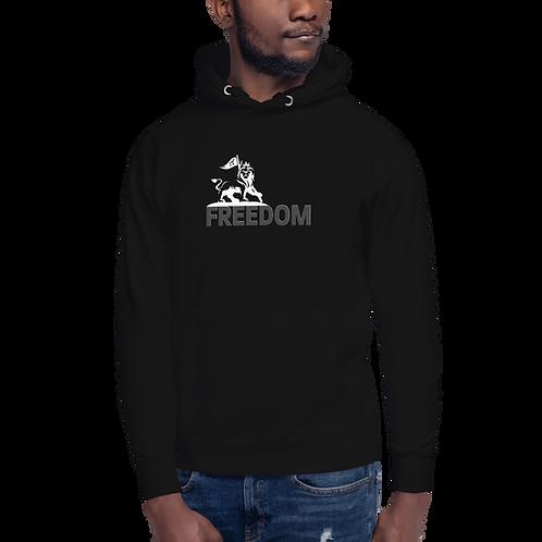 Authentic Freedom Logo Hoodie