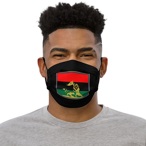 Logo flag face mask