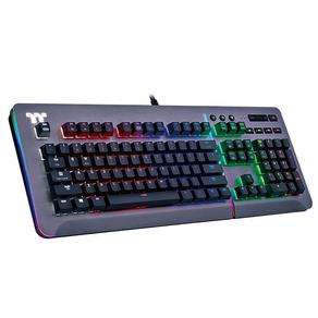 TT Level 20 RGB Titanium Gaming Keyboard Cherry MX Blue