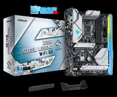Z590 Steel Legend WiFi 6E