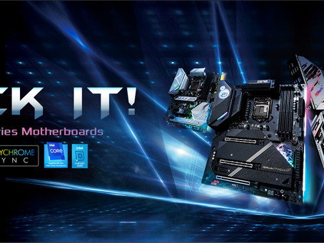 ASRock Announces its Full Range of Intel 500-series Chipset Motherboards.