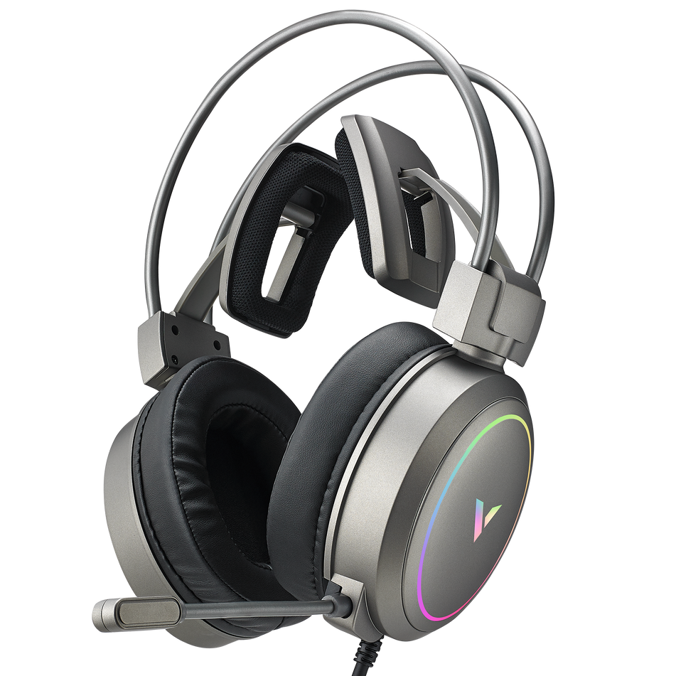 VH610 Silver Virtual 7.1 Channels Gaming