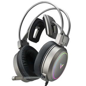 VH610 Silver Virtual 7.1 Channels Gaming Headset