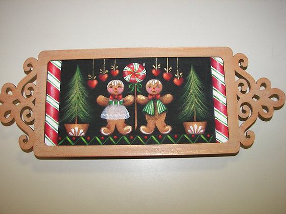 Mini Gingerbread Tray 249