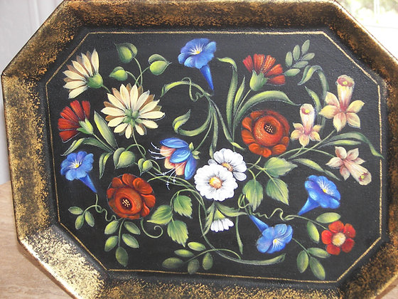 Small Tray With Flowers 247