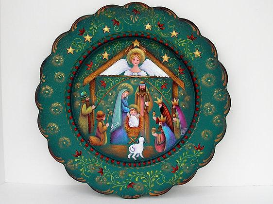 Nativity Plate 158