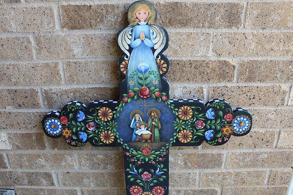 Nativity Cross 273