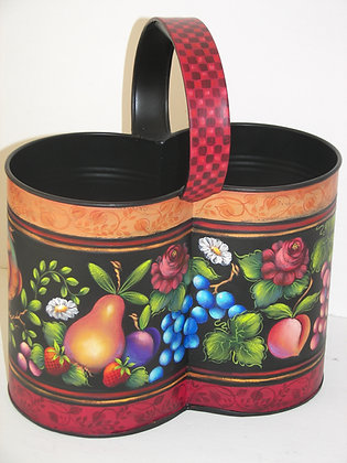 Folk Art Bucket 187