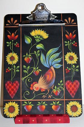 Folk Art Clipboard 192