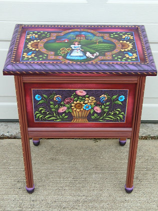Folk Art Table 147