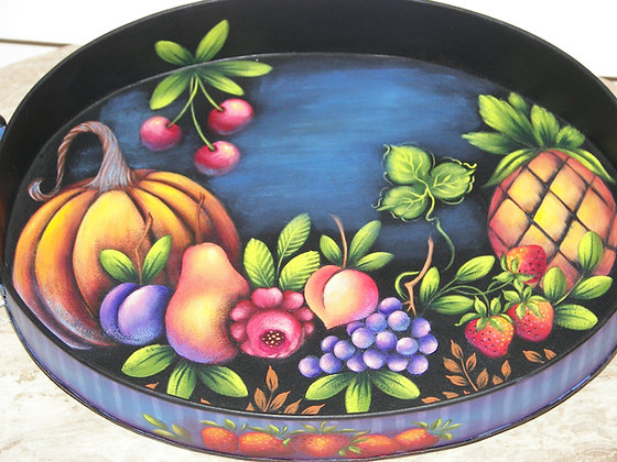 Beautiful Harvest Tray 262
