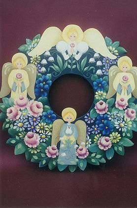 Angel Floral Wreath 20
