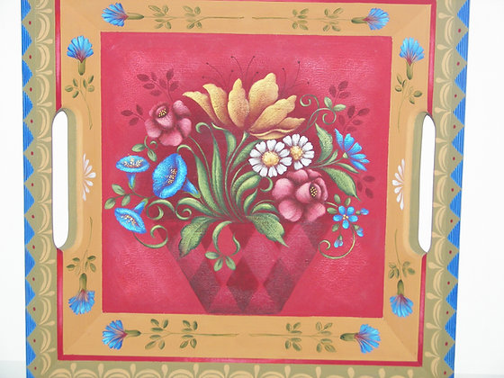 Flower Basket Box 137