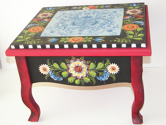 Folk Art Stool 184
