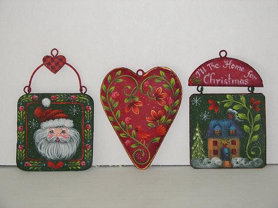 Home & Heart Ornaments 205