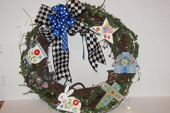 Folk Art Ornaments 280