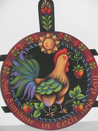 Rooster & Cherries Coffee Pot 225