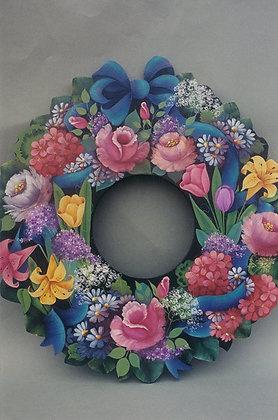 Spring Flower Wreath 21